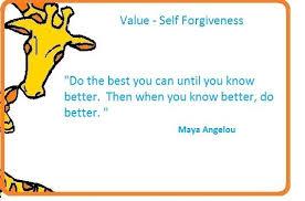 value-self forgiveness